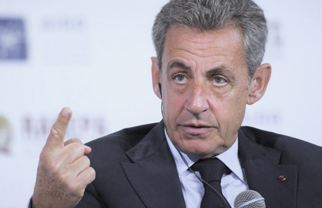 Nicolas Sarkozy, pictured here attending a conference in Moscow on January 16th 2020. © Evgeny Biyatov / Sputnik via AFP