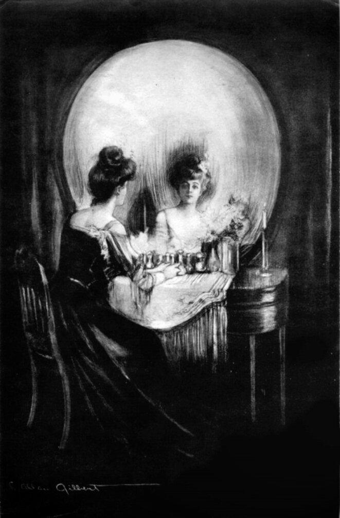 "Charles Allan Gilbert, ""All is Vanity"" (1892). © Public domain, via Wikimedia Commons"