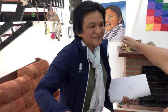 Milagro Sala assignée à domicile © Prensa Tupac
