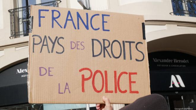 Pays de la déclaration des droits de l'homme © Georges-André