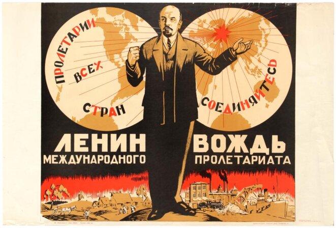 Affiche Soviétique 1924