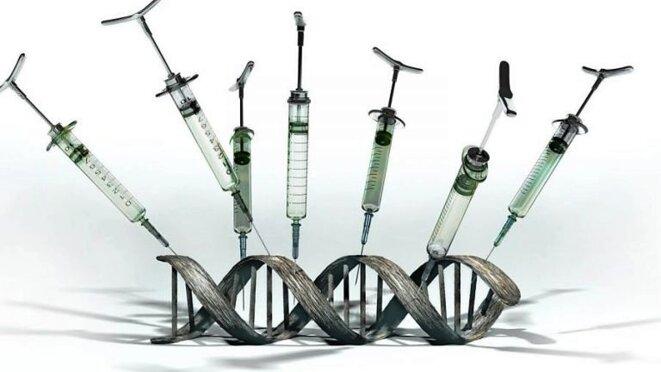 Les vaccins OGM © Criigen