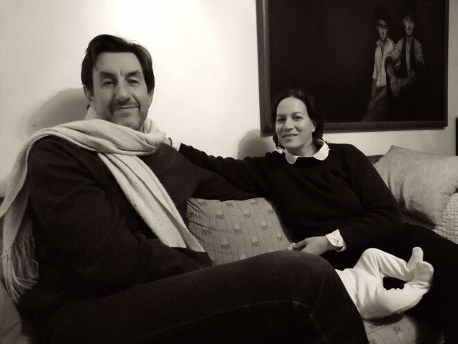 Yanowski et Karen Vourc'h dans le civil. © E. Favier