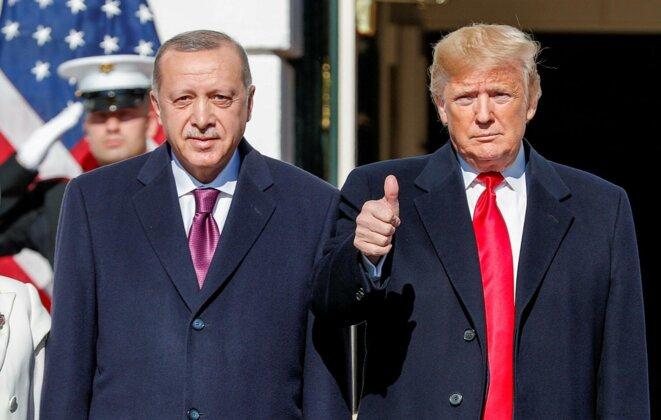Trump et Erdoğan en 2019 © Tom Brenner pour Reuters