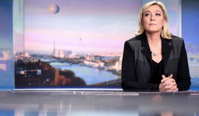 Marine Le Pen en 2015. © Capture d'écran