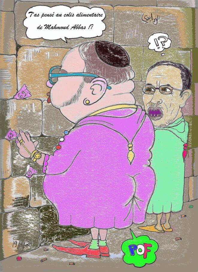 Mohammed 6 au pied du mur