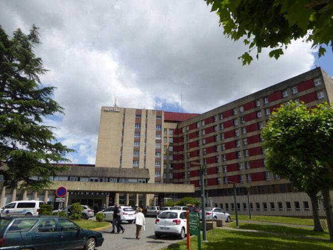 Centre hospitalier de Tarbes © JF Courtille