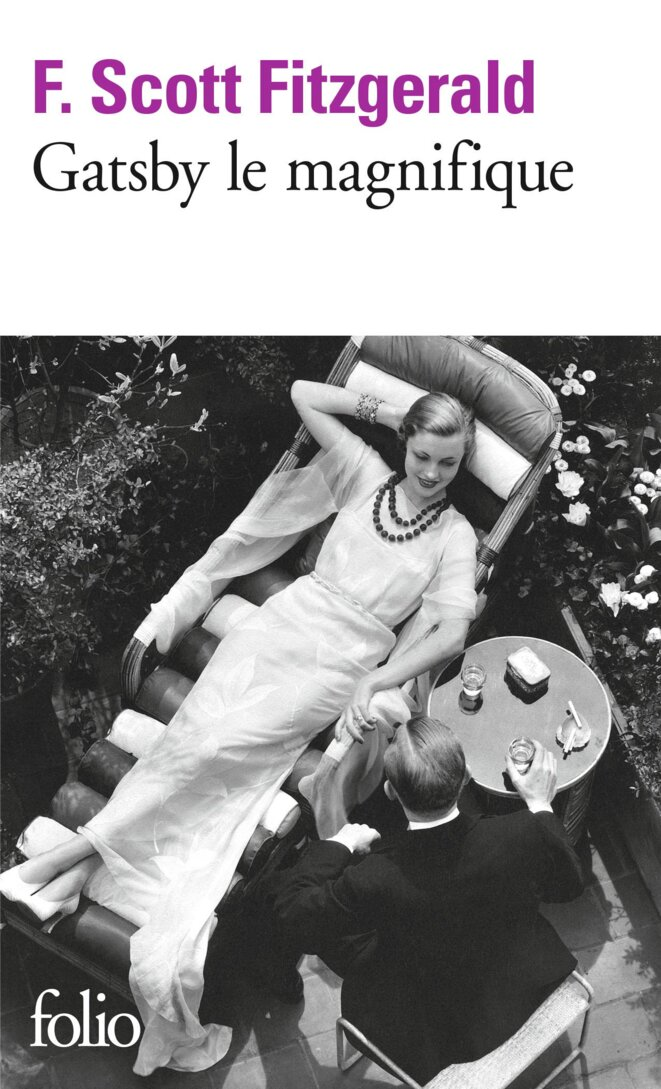 Gatsby le magnifique de Francis Scott Fitzgerald © Folio
