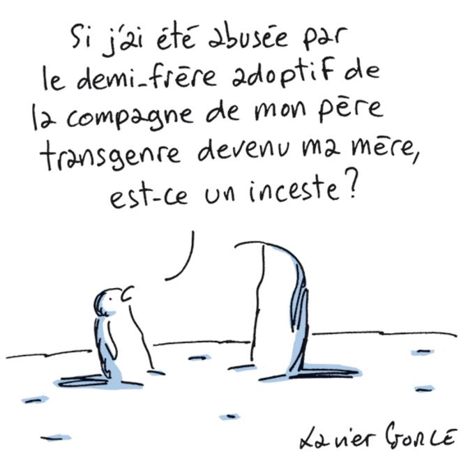 Repères familiaux - 19 janvier 2021 © Xavier Gorce
