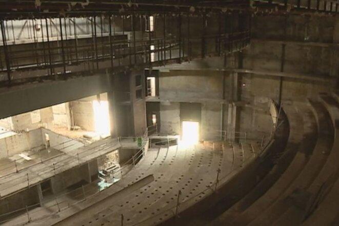 Construction Centre des Arts de PAP