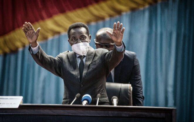 Christophe Mboso N'Kodia Pwanga, président provisoire de l'Assemblée nationale © Assemblée nationale RDC