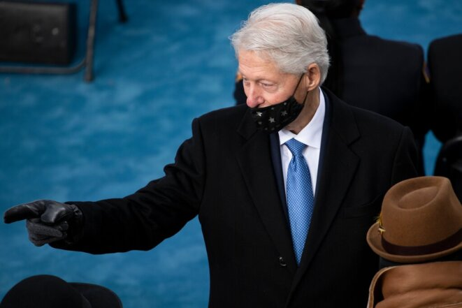 Bill Clinton à l'investiture de Joe Biden © Getty Images