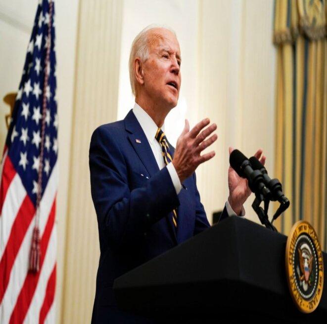 Le 46e Président des Etats-Unis, Joe Biden © 2021 D.R./DBNEWS
