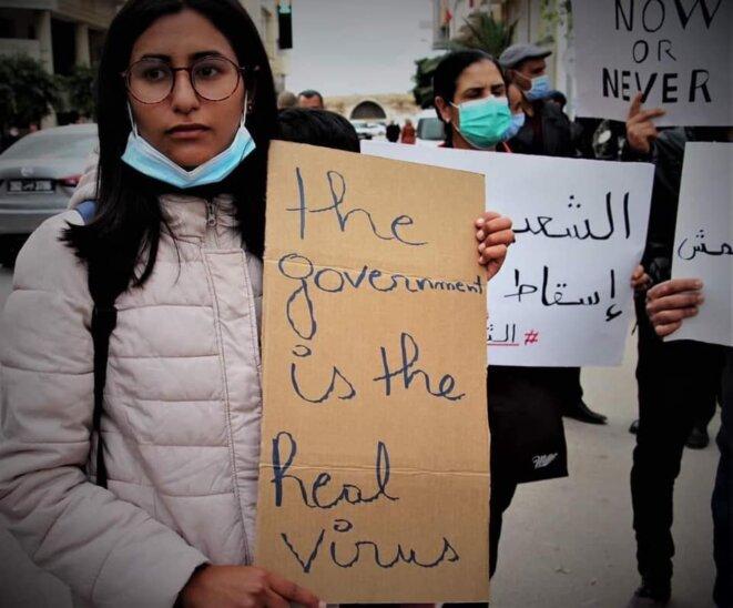 Manifestation à Sfax. © Rima Ben Ameur
