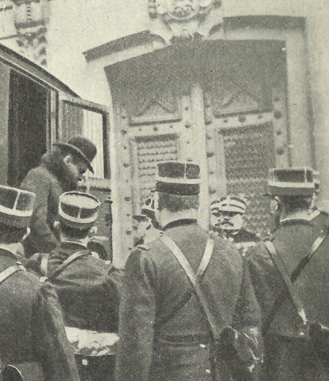 Alexandre Marius Jacob au cours d'un de ses procès