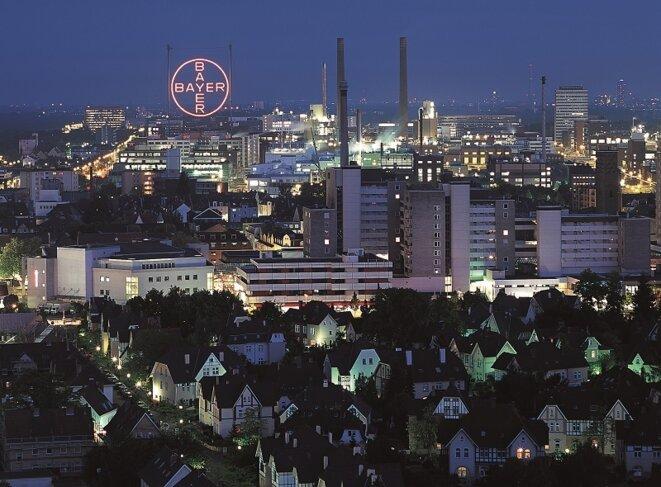 L'usine Bayer de Leverkusen en Allemagne © Bayer