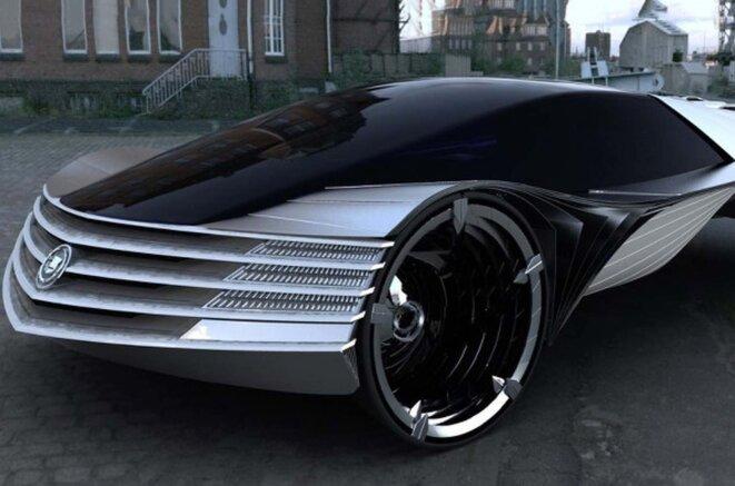 La nouvelle Cadillac © Claude Carrère