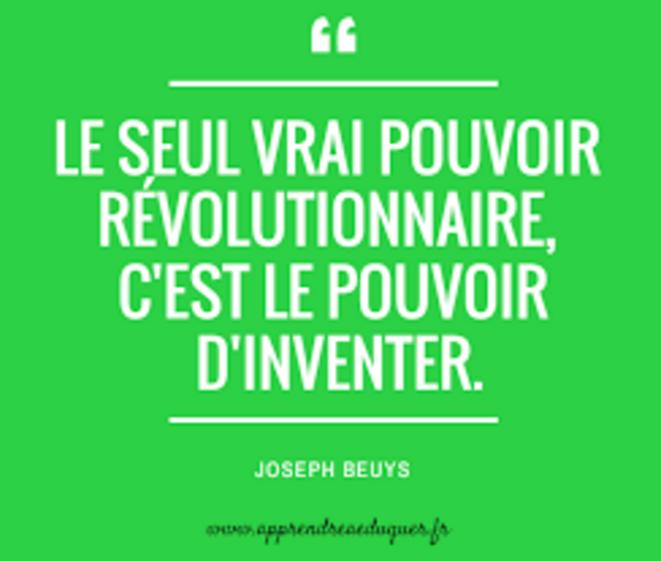 Citation Joseph Beuys