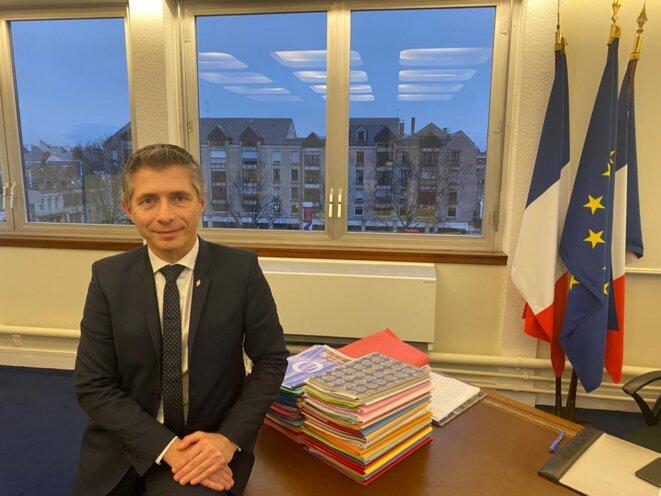 Gil Avérous, maire (LR) de Châteauroux. © IR