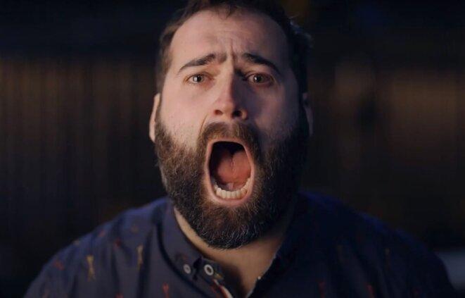 Photo: Capture d'écran Youtube Le cri de Gabriel Dagenais
