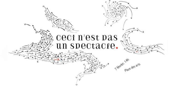 CECI N'EST PAS UN SPECTACLE © Eva Giard