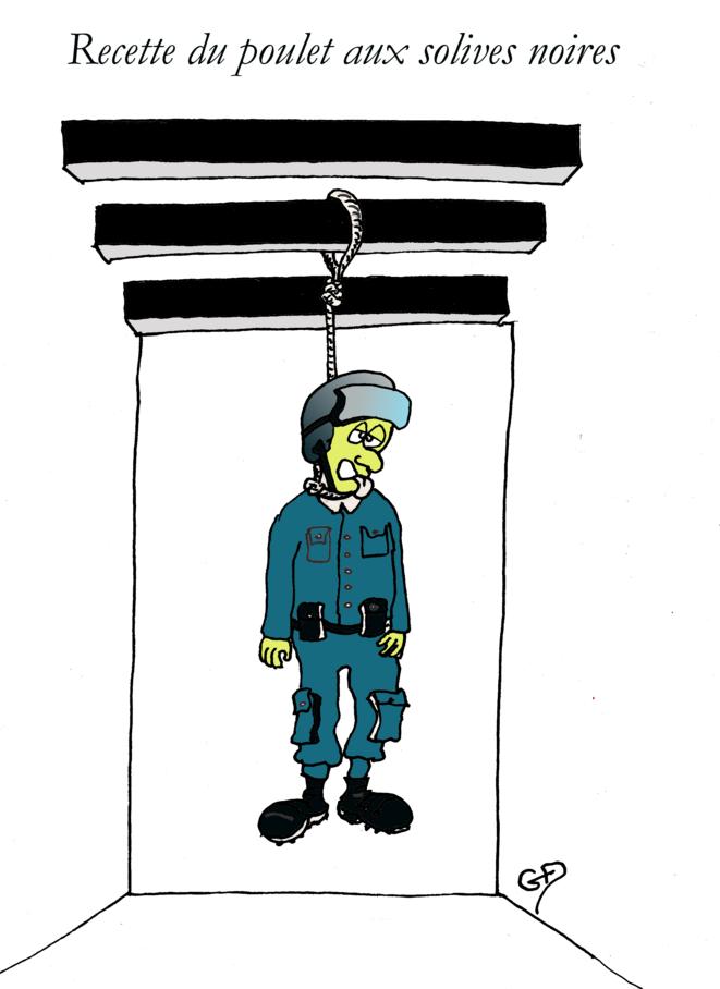 Malaise dans la police: Darmanin cheche la recette © Guy Delaunay