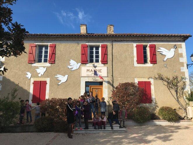 Mairie de Lasséran [Ph. YF]