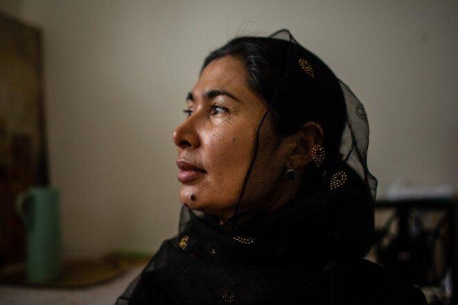Tursunay Ziawudun a passé neuf mois dans le réseau chinois de camps d'internement