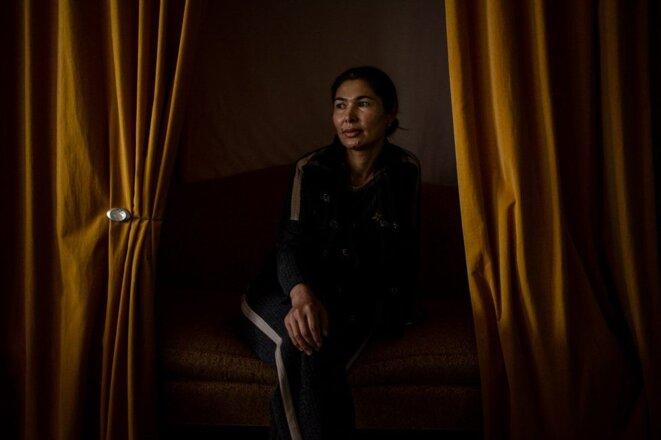 Tursunay Ziawudun a pu fuir au Kazakhstan, puis en sécurité relative aux États-Unis