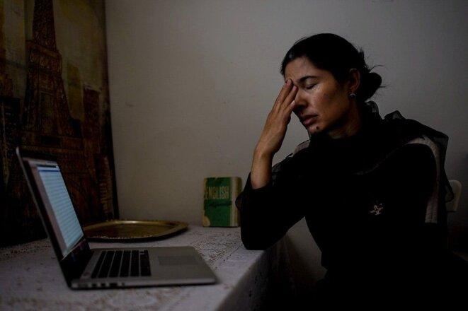 Ziawudun a fondu en larmes en identifiant des images et des images des camps