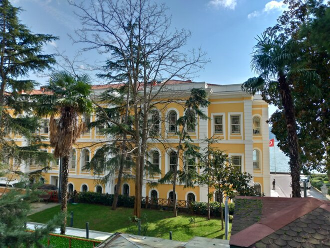 L'université de Galatasaray à Istanbul. © NC