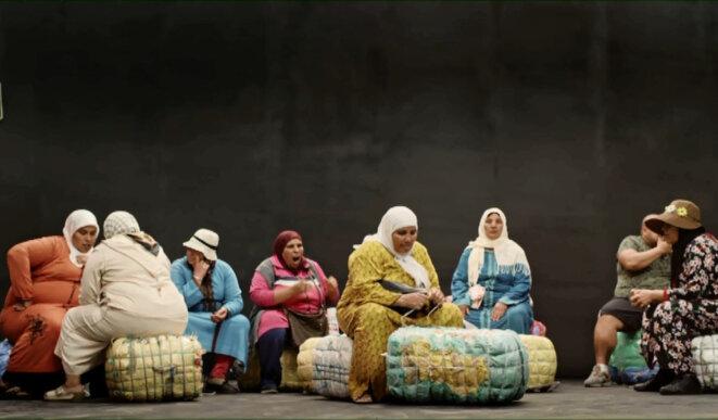 """Extrait de """"Bab Sebta"""". © Randa Maroufi"""
