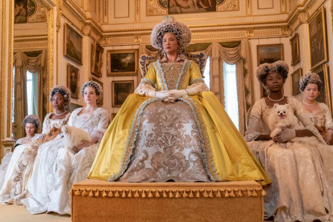 La reine Charlotte vue par Shonda Rhimes: certains historiens pensent qu'elle avait des origines africaines. © Liam Daniel/Netflix