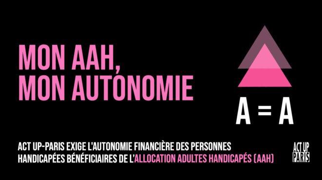 Mon AAH, mon Autonomie © Antoine