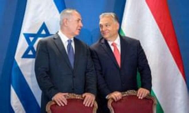 V. Orbàn et B. Netanyahou