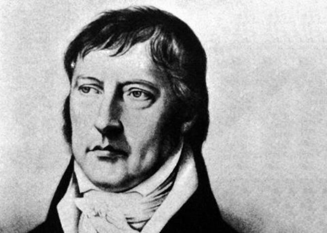Portrait de Georg Wilhelm Friedrich Hegel (1770-1831).