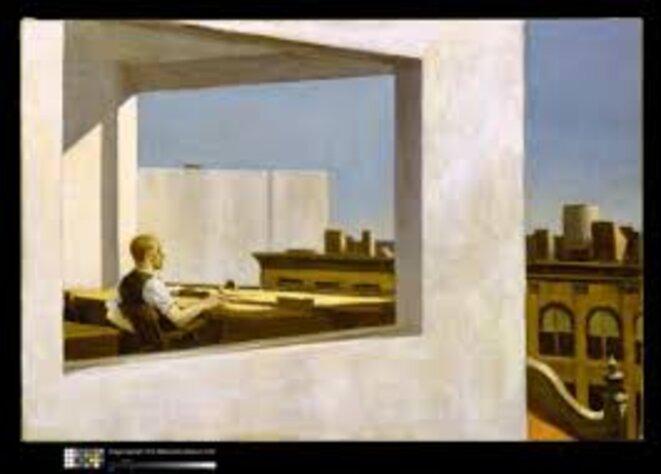© Bureau dans une petite ville, 1953, Hopper Edward