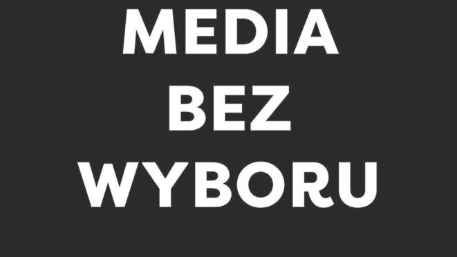 Les médias sans un choix possible