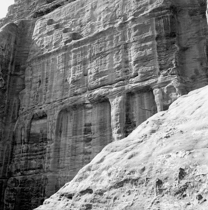 Petra, Jordanie, 1er novembre 1991. © Thierry Girard