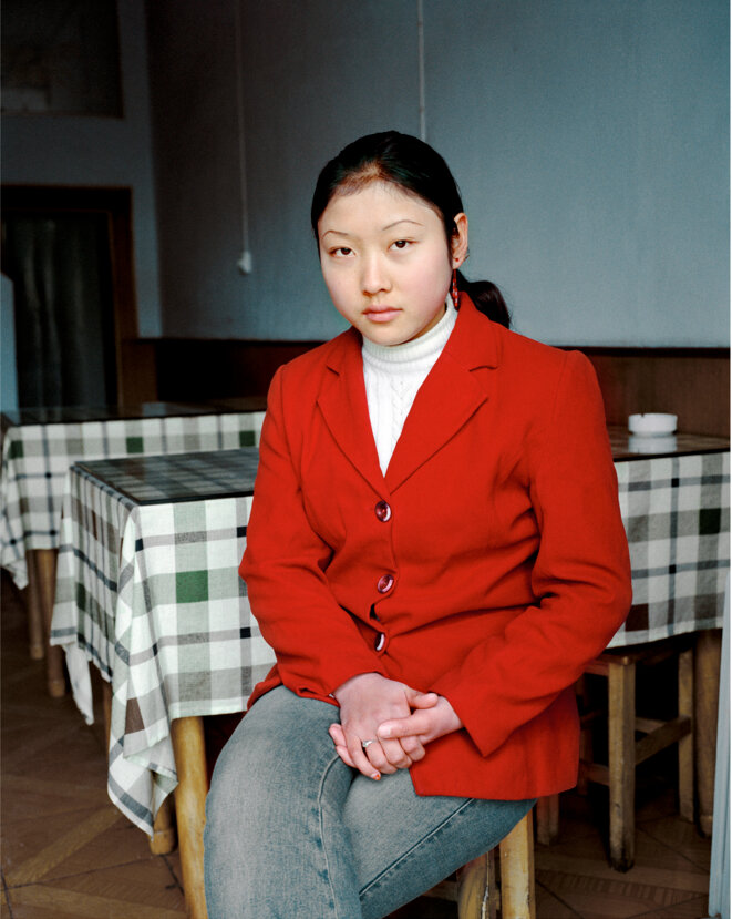 Portrait de Li Hong Yun, Mianchi, Henan, Chine, 20 novembre 2003 © Thierry Girard © Thierry Girard