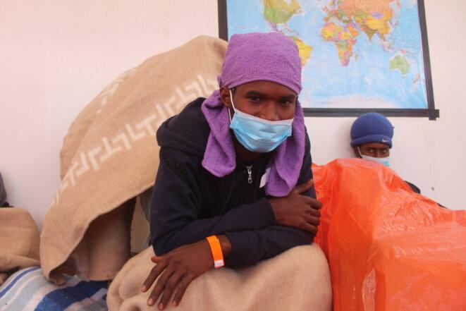 Mohamed, 17 ans, veut s'installer en France, dans son «pays de rêve». © NB