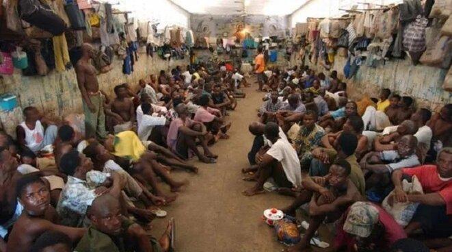 Togo, Prison Civile de Kpalimé où 9 employés du Service de l'administration pénitentiaire (SAP), furent accusés d'avoir torturé à mort un détenu le 15 mai 2018