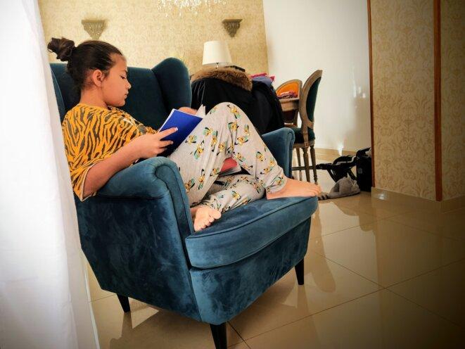 Hawaï, 10 ans, devrait poursuivre sa scolarité dans un collège catholique de Montpellier à la rentrée prochaine. © PB
