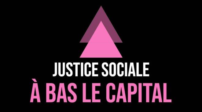 Journée mondiale de la justice sociale - Act Up Paris © Antoine Chassagnoux