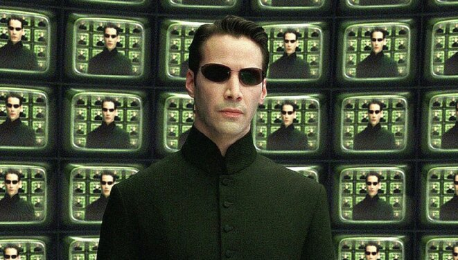 """Matrix Reloaded"" des Wachowski © Warner Bros."