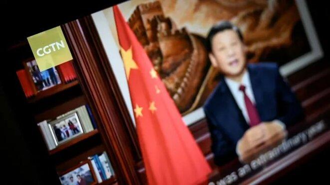 Le chien de garde des médias français a confirmé avoir été approché par la CGTN en décembre. Le groupe chinois a lancé son hub européen de diffusion à Londres il y a moins de deux ans © Leon Neal / Getty Images