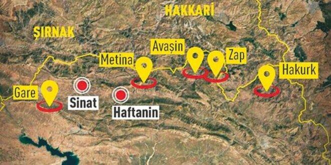 Localisation de Garê © CNN Türk