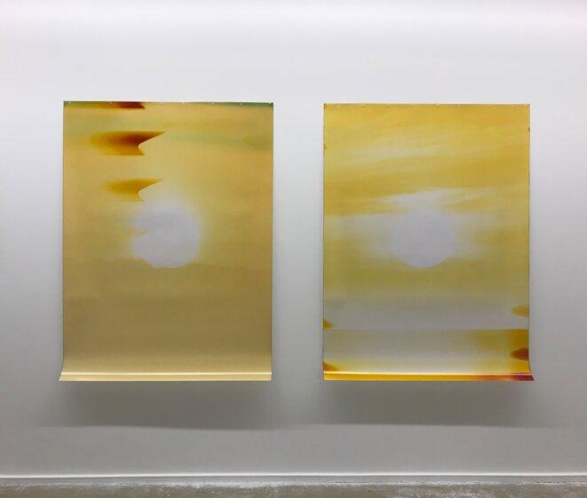Sébastien Reuzé, Soleil#06-14-F09, 2017 © Adagp, Paris, 2020, courtesy de l'artiste et de la Galerie Un-Spaced, Paris