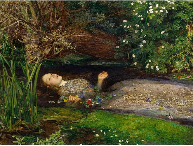 Ophelia John Everett Millais