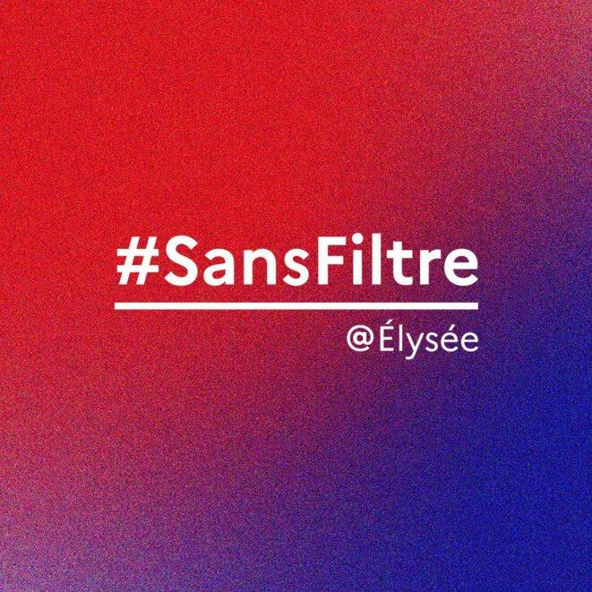 Logo #SansFiltre, le bruit de l'image aurait dû interpeller sur la qualité de la vidéo